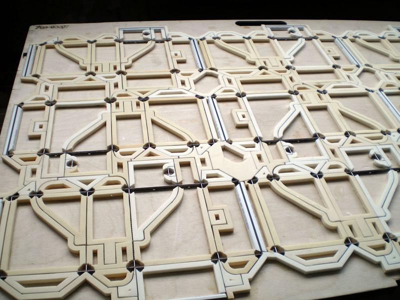 Вырубной штамп для картона